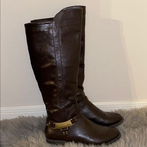 Nicole 'Bedford' Knee High Cowgirl Boots
